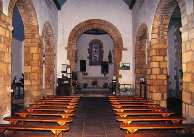 Cadog's church at Langado, Morbihan, Brittany